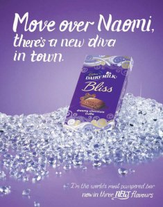 Cadbury's offending advert.