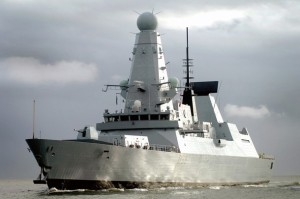 Type 45 destroyer HMS Dauntless